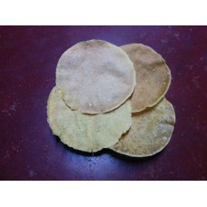 Tapioca Papads - A slightly-spicy, enjoyable savory.