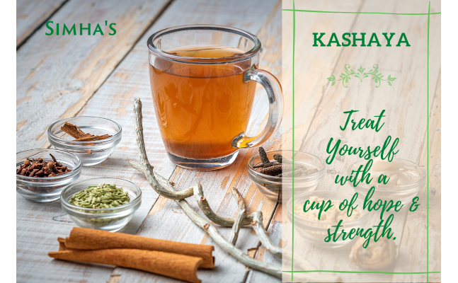 Kashaya [Kashayam, Kadha] Powder - Strong & Effective Healthy Ancient Beverage