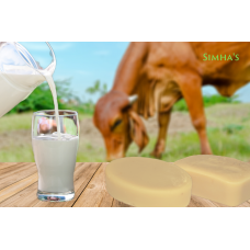 Cow Milk Shampoo Bar - Natural Hair Conditioner